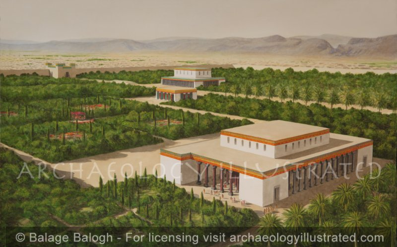 Pasargade, The Ceremonial Capital of Persia. Royal Pavilions. 5th century BC - Archaeology Illustrated