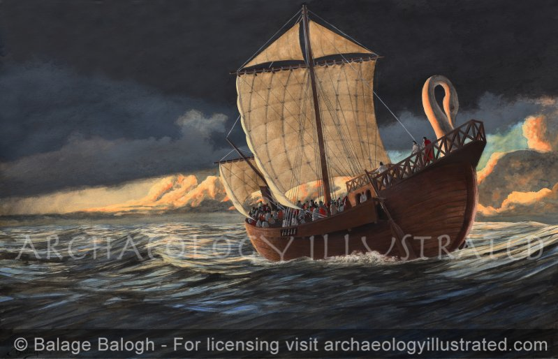 Paul the Apostle at Sea - Archaeology Illustrated