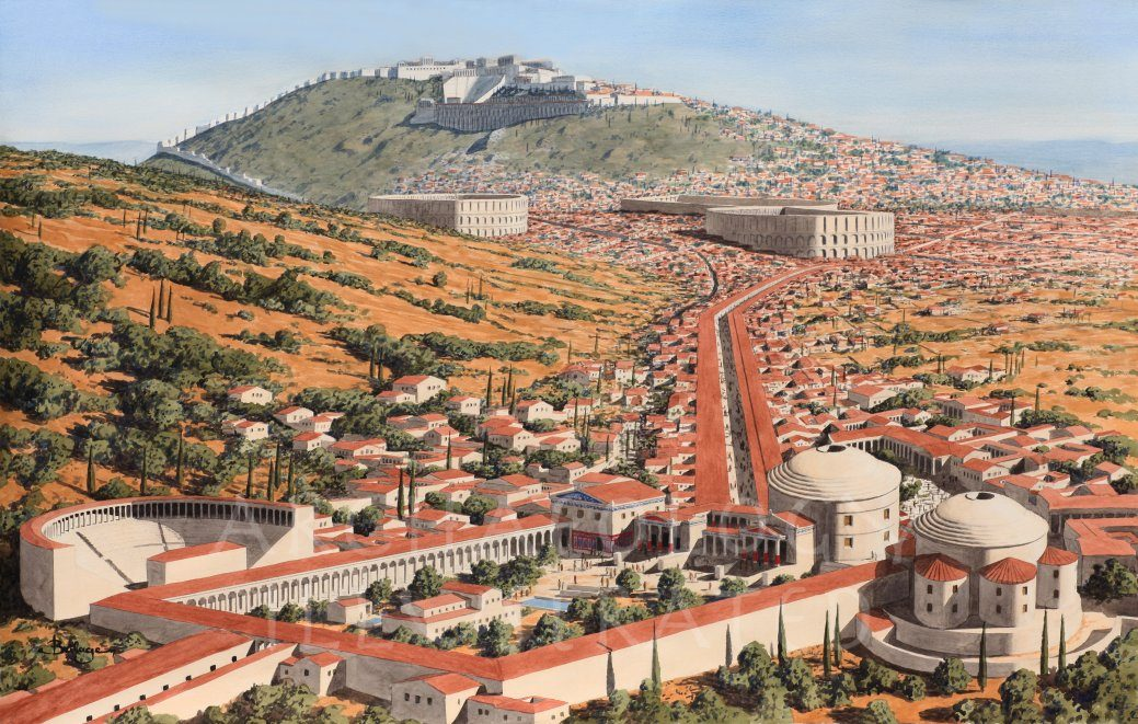 Pergamon, Western Turkey, The Healing Center, 1st century AD - Archaeology Illustrated
