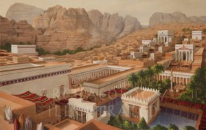 Petra, Jordan, in the 2nd Century AD - Archaeology Illustrated