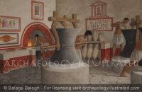 Pompeii Bakery, 1st century AD - Archaeology Illustrated