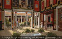 Pompeii, House of Vettii, 1st century AD - Archaeology Illustrated
