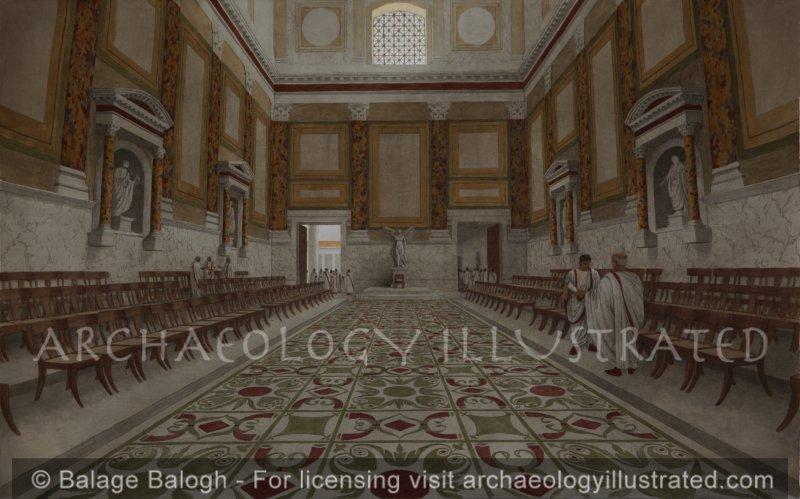 Rome, The Roman Senate, 2nd century AD - Archaeology Illustrated