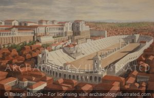 Rome, the Palatine Hill  and the Circus_Maximus, 2nd century AD - Archaeology Illustrated