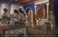 Samaria, Royal Palace, Ahab, Yezebel and the prophet Elijah, 8th century BC - Archaeology Illustrated