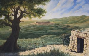 Samaria (Shomron), Capital of Israel, 8th century BC - Archaeology Illustrated