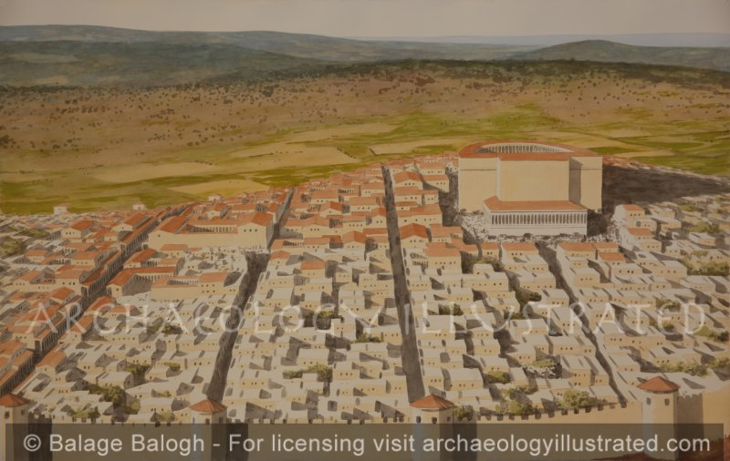 Sepphoris, Capital of the Galilee in the Roman Period - Archaeology Illustrated