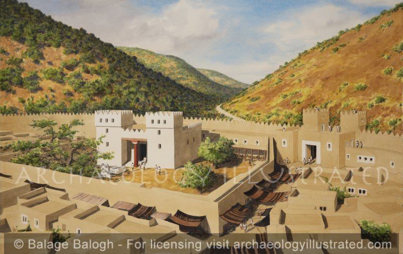 Shechem, Temple of El-Brith and City Gate, Late Bronze Age - Archaeology Illustrated