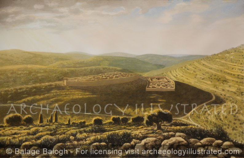Shiloh and the Tabernacle, 12-10th century BC - Archaeology Illustrated