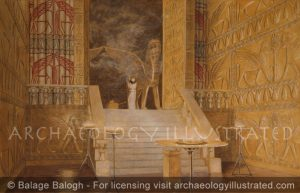Temple of Solomon, Interior 10th Century BC - Archaeology Illustrated