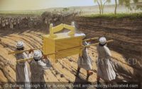 The Ark of the Covenant and the Israelites Crossing the Jordan River - Archaeology Illustrated