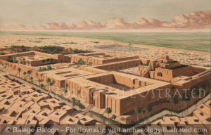 The City of Ur, Southern Iraq, 2000BC - Archaeology Illustrated