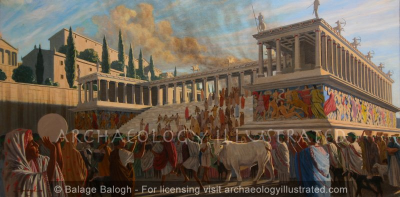 The Pergamon Altar (Altar of Zeus), 2nd century BC - Archaeology Illustrated