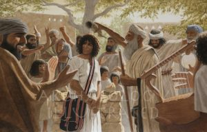 The Prophet Samuel Anoints David to Be King of Israel in Bethlehem - Archaeology Illustrated