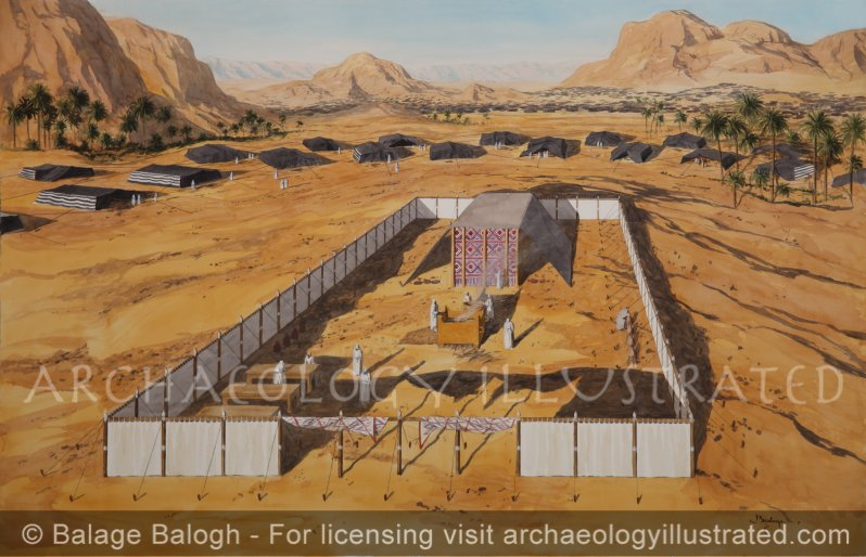 The Tabernacle (Mishkan) in the Sinai Desert - Archaeology Illustrated
