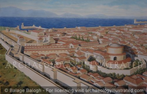 Thessalonike, Northern Greece, The Royal Palace Area, Byzantine Period - Archaeology Illustrated