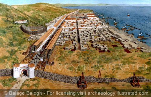 Tiberias on the Sea of Galilee, Israel, 1st century AD - Archaeology Illustrated