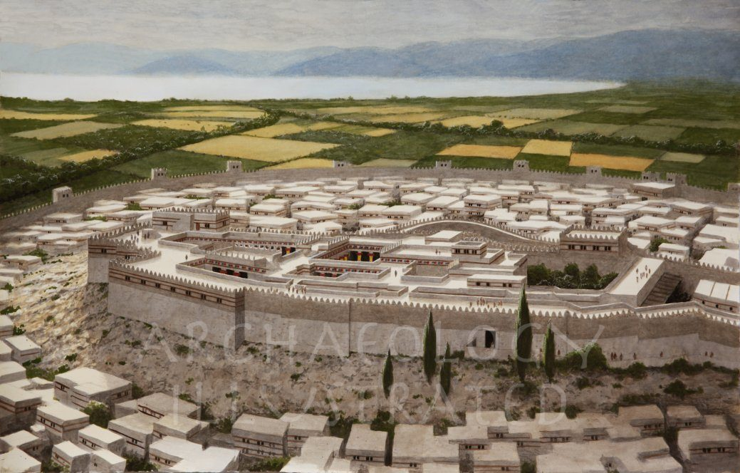 Tiryns, Southern Greece. A Mycenean Citadel, Around 1250 BC - Archaeology Illustrated