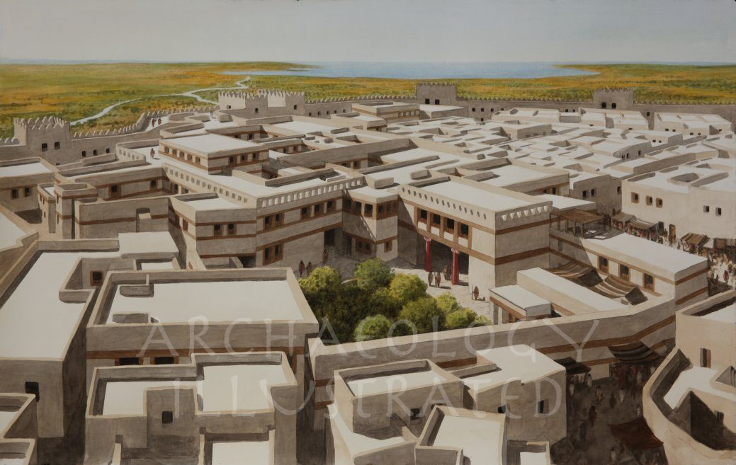 Ugarit, Syria, The Royal Palace, 1200 BC - Archaeology Illustrated