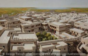 Ugarit, Syria, The Royal Palace, 1200 BC - Archaeology Illustrated