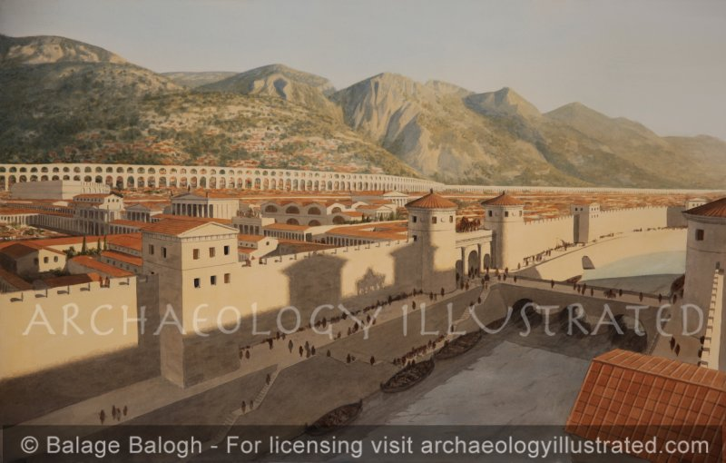 Antioch on the Orontes River. Capital of the Eastern Roman Empire, 1st century AD - Archaeology Illustrated