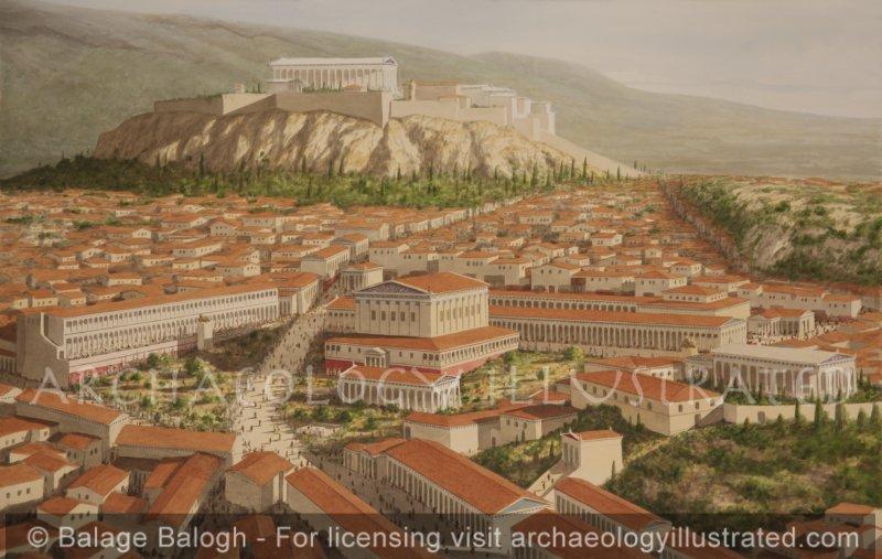 Athens, Agora, 1st century AD - Archaeology Illustrated