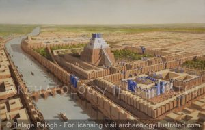 Babylon, Tower of Babel and Temple of Marduk. 6th century BC - Archaeology Illustrated