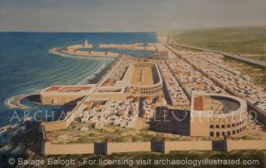 Caesarea, Northern Israel, 1st century AD - Archaeology Illustrated