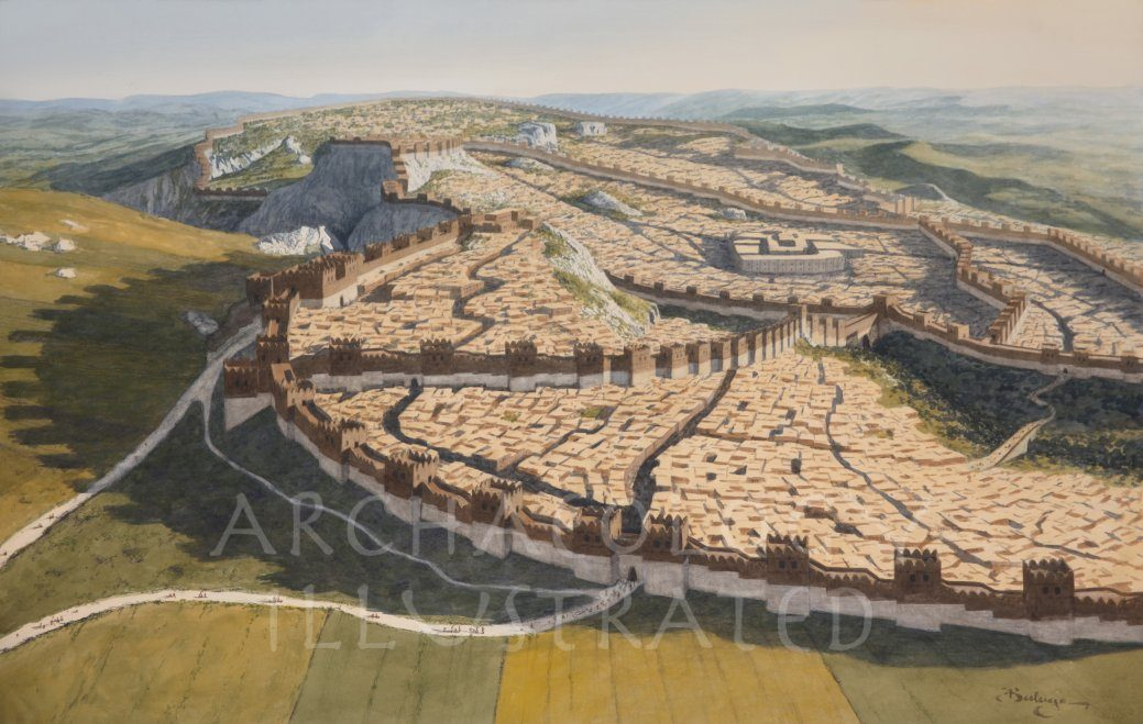Hattusha, Capital of the Hittite Empire, North-Central Turkey, 1250 BC - Archaeology Illustrated