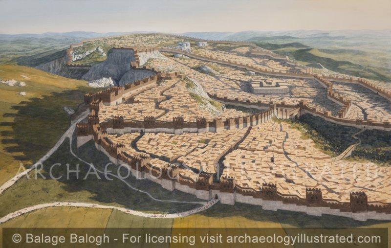 Hattusha, Capital of the Hittite Empire, North-Central Turkey, 1250 BC - Archaeology Illustrated