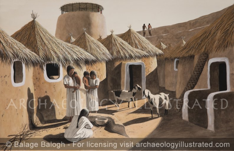 Jericho, The Earliest Occupation in the Pre-pottery Neolithic Period, Around 8000 BC - Archaeology Illustrated
