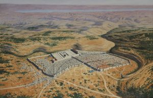 Jerusalem, An Aerial View in the 1st century AD - Archaeology Illustrated