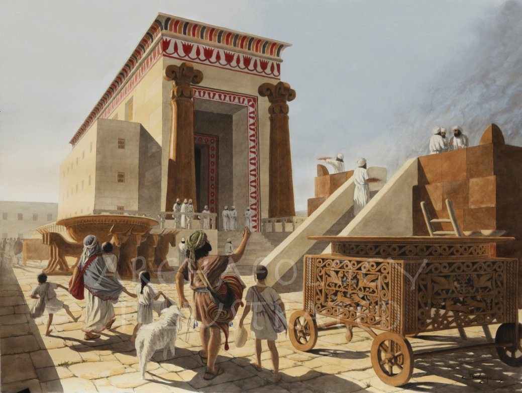 Jerusalem, Temple of Solomon, 10-7th century BC - Archaeology Illustrated
