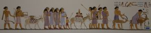 Nomads in the Age of Abraham and Sarah Depicted in the Tomb of Khnumhotep. Full View. Around 1860 BC - Archaeology Illustrated