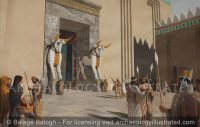 "Persepolis, The ""Gate of All Nations"" Main Entrance to Palace, 6th century BC - Archaeology Illustrated"