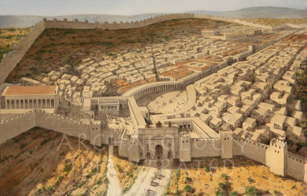 Jerash/Gerash, Roman Period - Archaeology Illustrated