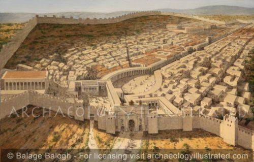 Jerash/Gerash, Roman Period - Archaeology Illustrated