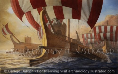 Roman Warships - Archaeology Illustrated