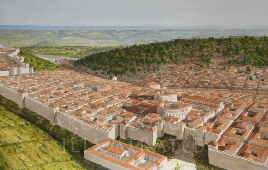 Cyrene, Near the Mediterranean Coast of Lybia , 2nd Century AD - Archaeology Illustrated