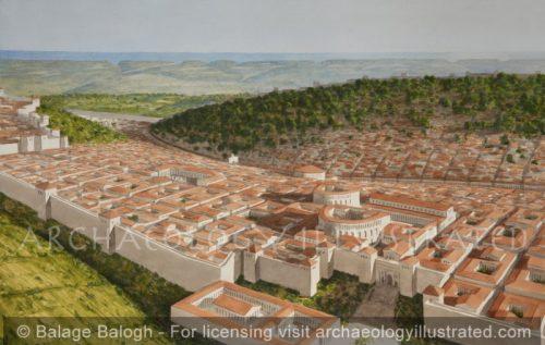 Cyrene, Near the Mediterranean Coast of Lybia , 2nd Century AD - Archaeology Illustrated