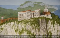 Villa Jovis of Emperor Tiberius on the Island of Capri, AD 27 - Archaeology Illustrated