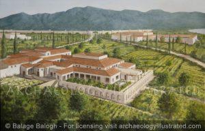 Villa of  the Mysteries, Wealthy Roman Suburban Lifestyle Outside Pompeii, 1st century AD - Archaeology Illustrated