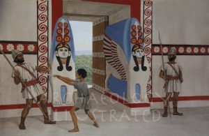 Hattusha, The Sphinx Gate, 1250 BC - Archaeology Illustrated