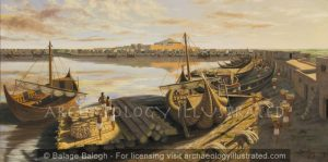 The Great Harbor of the City of Ur, around 2000 BC - Archaeology Illustrated