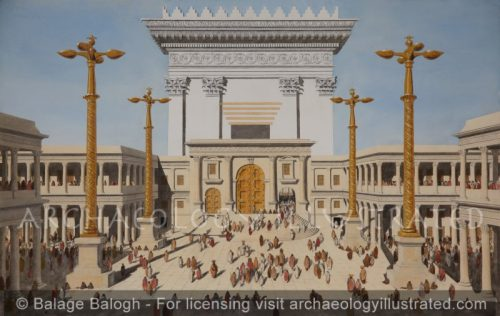 Jerusalem, Herod's Temple, Court of Women, 1st century AD - Archaeology Illustrated