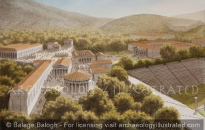 The Healing Center of Epidauros, Greece, Hellenistic Period - Archaeology Illustrated