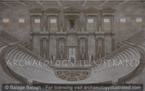 Ephesus, the Bouleterion (City Council Hall), 2nd century AD - Archaeology Illustrated