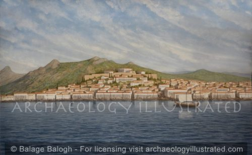 Naxos, Main Port of Naxos Island. Hellenistic Period - Archaeology Illustrated