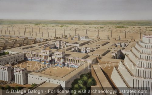 Nineveh, Palace of King Sennacherib, (SW Palace) 7th century BC - Archaeology Illustrated