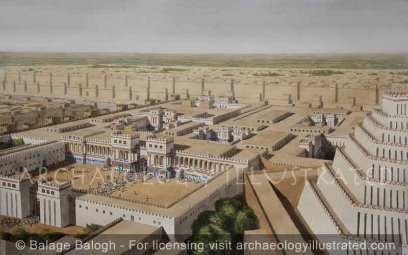 Nineveh, Palace of King Sennacherib, (SW Palace) 7th century BC - Archaeology Illustrated